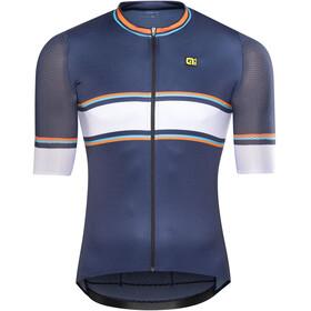 Alé Cycling R-EV1 Speedfondo Short Sleeve Jersey Men navy blue-fluo orange-light blue